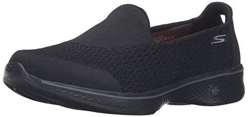 Skechers Performance Women's Go Walk 4 Pursuit Walking Shoe, Black – 9 B(M) US