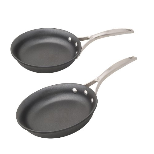 calphalon unison nonstick 8 inch and 10 inch omelette pan setblack - Calphalon Unison Nonstick 8-Inch and 10-Inch Omelette Pan Set,Black