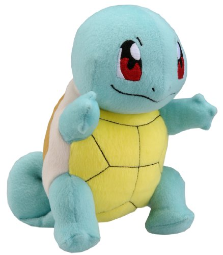 Takaratomy New Pokemon N-10 X and Y Squirtle/Zenigame 8″ Plush Doll