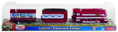 Thomas & Friends Fisher-Price TrackMaster, New Friends/Greatest Moments – Caitlin's Passenger Express
