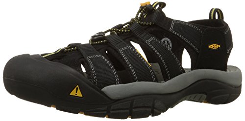 Keen Men's Newport H2 Sandal,Black,12 M US