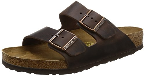 Birkenstock Arizona Habana Leather Unisex Sandal 38 N (US Women's 7-7.5)