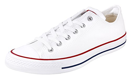 Converse Unisex Chuck Taylor All Star Ox Basketball Shoe Optic White 8.5 B(M) US Women/6.5 D(M) US Men