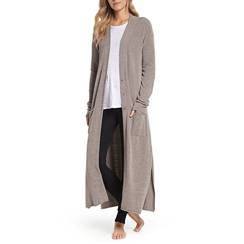 Barefoot Dreams CozyChic Lite Duster Beach Rock, Large