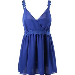 Plus Size Chiffon Slip Dress