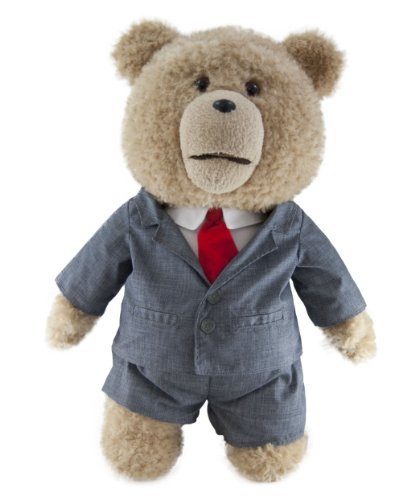 "ted in suit 24 plush toy with sound - Ted in Suit  24"" Plush Toy with Sound"