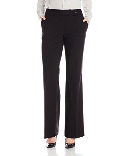 Calvin Klein Women's Classic-Fit Suit Pant, Black, 12