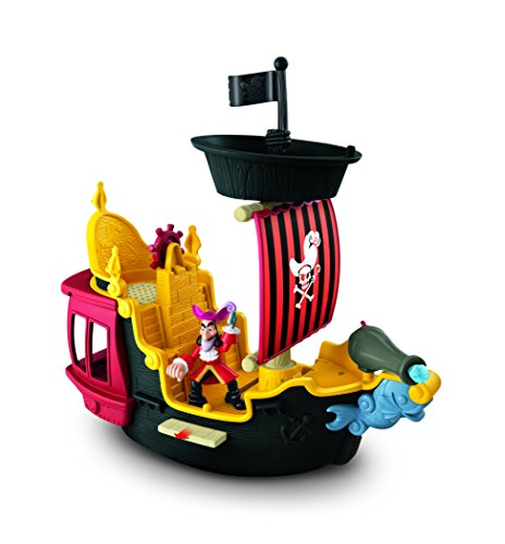 Fisher-Price Disney's Jake & the Never Land Pirates, Hook's Jolly Roger Pirate Ship