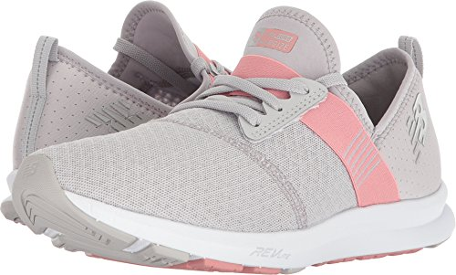 New Balance Women's FuelCore Nergize v1 Fuel Core Cross Trainer, Silver Mink/Dusted Peach, 10.5 B US