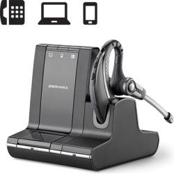 Plantronics Savi W730 Over-the-Ear Monaural Wireless Headset