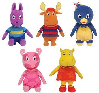 Ty Backyardigans Beanie Baby Set of 5 Beanie Babies