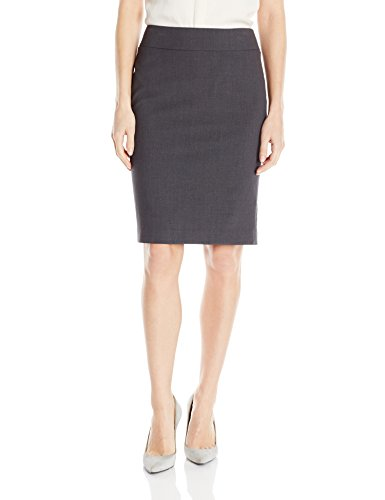 Nine West Women's Bi Stretch Slim Skirt, Granite, 12