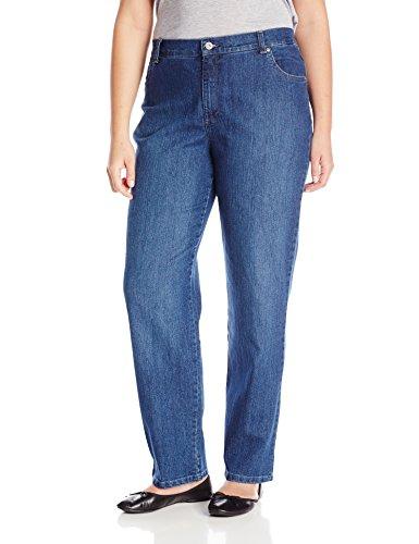 Gloria Vanderbilt Women's Plus-Size Amanda Tapered Leg Jean, Phoenix, 20W Short