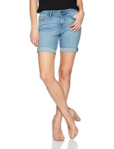 Calvin Klein Jeans Women's Denim City Short, Atlantic Blue, 26