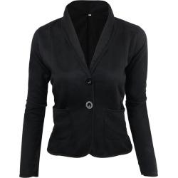 Women's Blazer Solid Color Button Slim Blazer