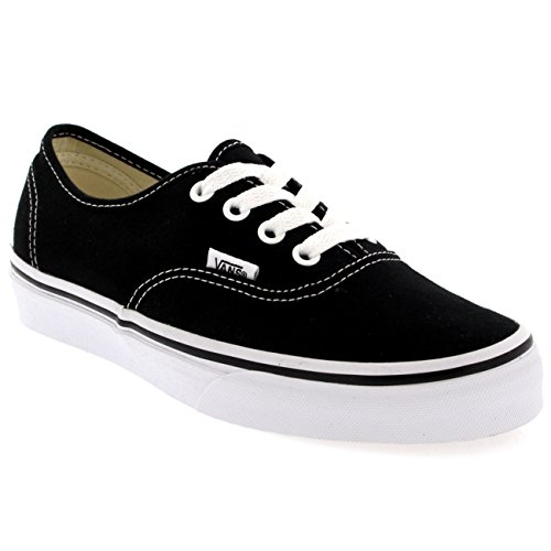 Vans Authentic Unisex Skate Trainers Shoes Black 7 B(M) US Women / 5.5 D(M) US Men