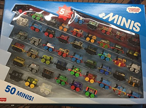 thomas and friends minis collection of 50 with 5 exclusive warrior minis - Thomas and Friends Minis Collection of 50 - with 5 Exclusive Warrior Minis