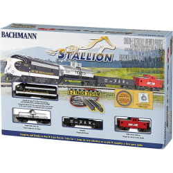 Bachmann Stallion N Scale Electric Train Set, Multicolor
