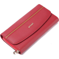 Genuine Leather Women's Purses Organizer Wallet Female Phone Wallets Card holder Clutch