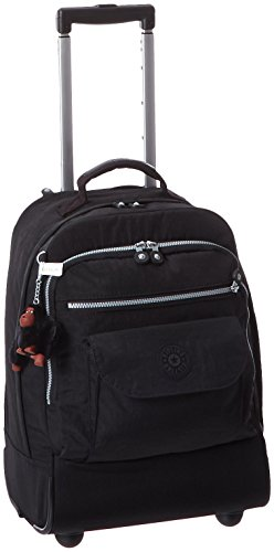 Kipling Luggage Sanaa Wheeled Backpack, Black, One Size