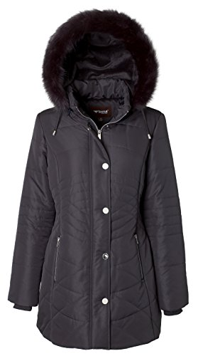 Women's Casual Fashion Big Size Hooded Fur Coat