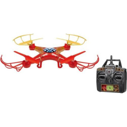 Marvel Iron Man 2.4GHz 4.5CH RC Sky Hero Drone by World Tech Toys, Multicolor