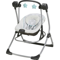 Graco Cozy Duet Swing & Rocker, Multicolor