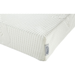 Graco Foam Crib & Toddler Bed Mattress, White