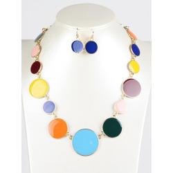 Round Jewelry Set