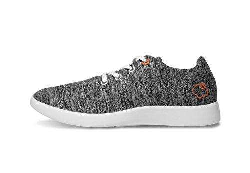 Le Mouton Unisex LM-01-DG – Merino Wool Lightweight Unisex Shoes 9W/8M M