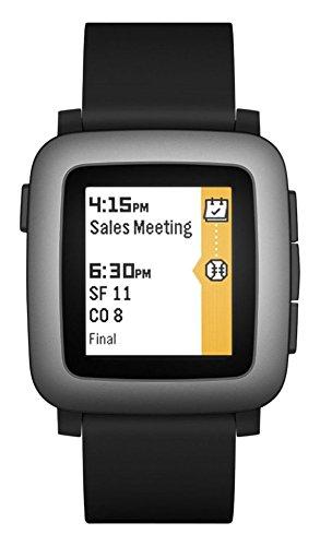 Pebble Time Smartwatch – Black