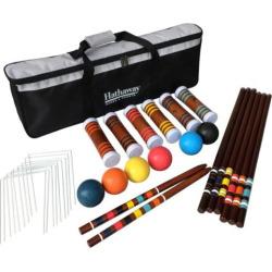 Hathaway 6-Player Croquet Set, Multicolor