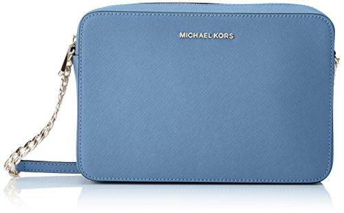 MICHAEL Michael Kors Women's Large East / West Cross Body Bag, Denim, One Size