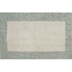 Mohawk® Home EverStrand Spotted Border Rug, Green
