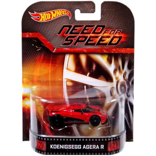 Hot Wheels Hot Wheels Entertainment Vehicle – Koenigsegg Agera R – Need for Speed Die Cast Vehicle
