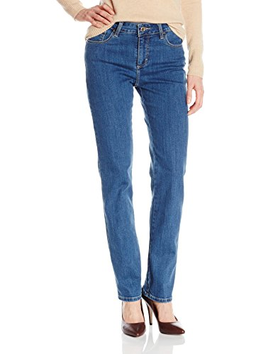LEE Women's Instantly Slims Classic Relaxed Fit Monroe Straight Leg Jean, Seattle, 14