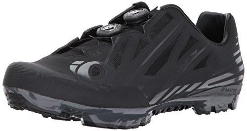 Pearl iZUMi X-Project Pro Cycling Shoe, Black/Shadow Grey, 46.5 EU/12 D US