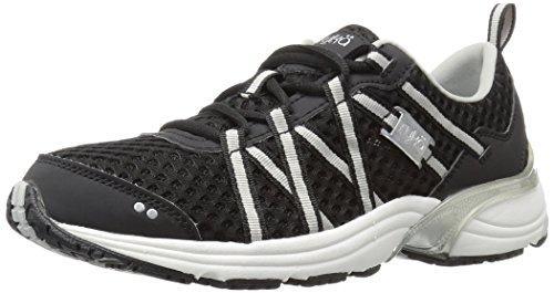 Ryka Women's Hydro Sport Water Shoe Black/Silver 9 M US
