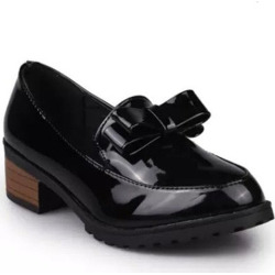 Bow-tie Shallow-mouth Women's Shoes