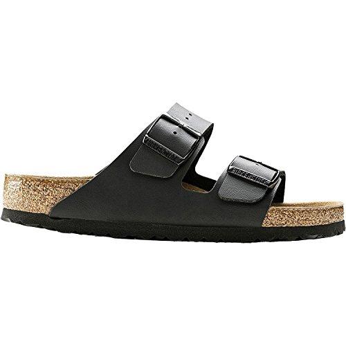 Birkenstock Unisex Arizona Black Birko-flor Sandals – 8-8.5 B(M) US Women