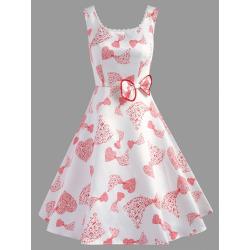A Line Sleeveless Party Dress