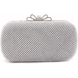 The bowknot Crystal Evening Bag Clutch Bags Clutches Wedding Purse Rhinestones Wedding Handbags