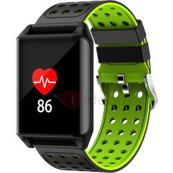 R11 Color Touch Waterproof Smart Bracelet Heart Rate Blood Pressure Monitor Running Swimming Sport Calls Alert