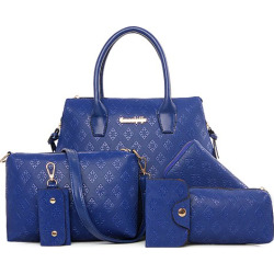 Embossing Design Tote Bag For Women