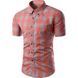 Short Sleeves Button-Down Shirt
