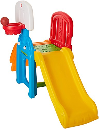 Step2 Toddler Kid Outdoor Game Time Sports Climber Activity Jungle Gym Playset (Large (Includes Toys & Accessories))