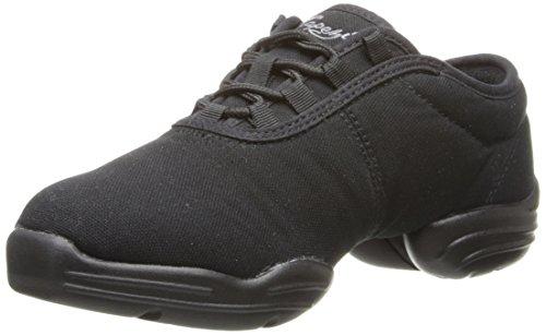 Capezio Canvas Dance Sneaker,Black,8 M US
