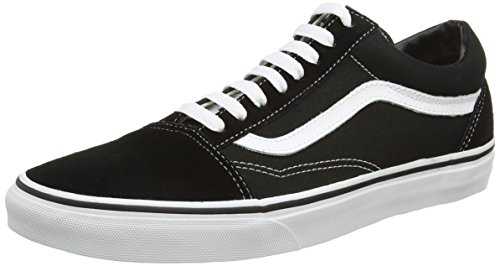 Vans Unisex Old Skool Black/White Skate Shoe 6.5 Men US / 8 Women US