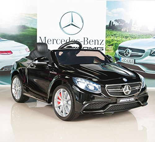 Mercedes-Benz S63 Kids 12V Electric Power Wheels Ride On