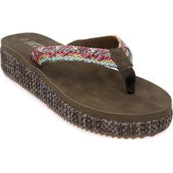 Mid Heel Flip Flop